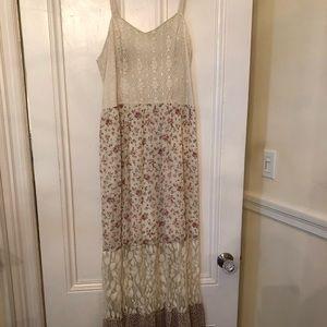 Mossimo floral boho dress xl